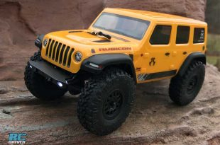 Axial Racing SCX24 2019 Jeep Wrangler JLU RTR Review