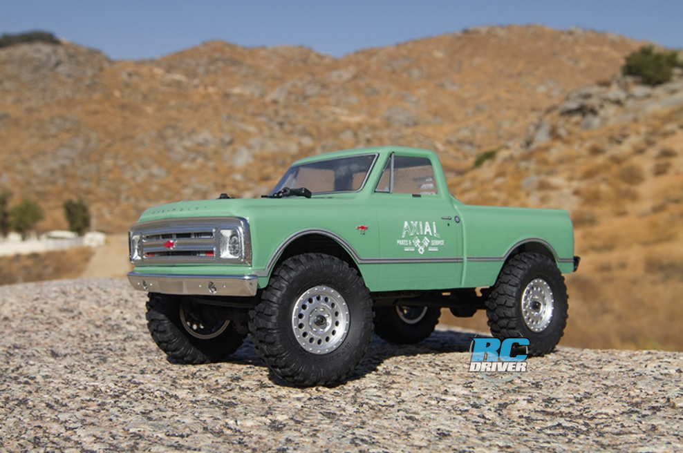Axial SCX24 1967 Chevrolet C10 Rock Crawler