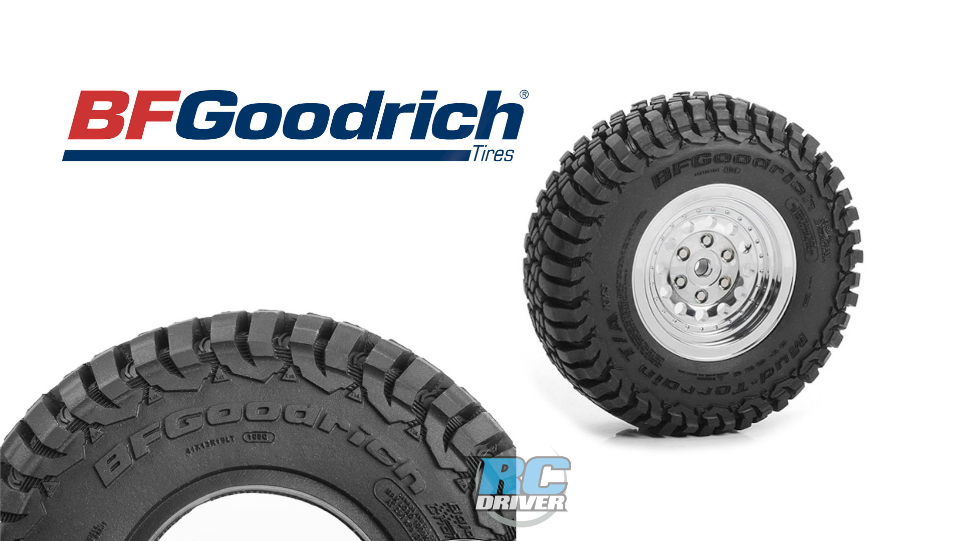 RC4WD BFGoodrich KM3 Scale 1.9 Tires