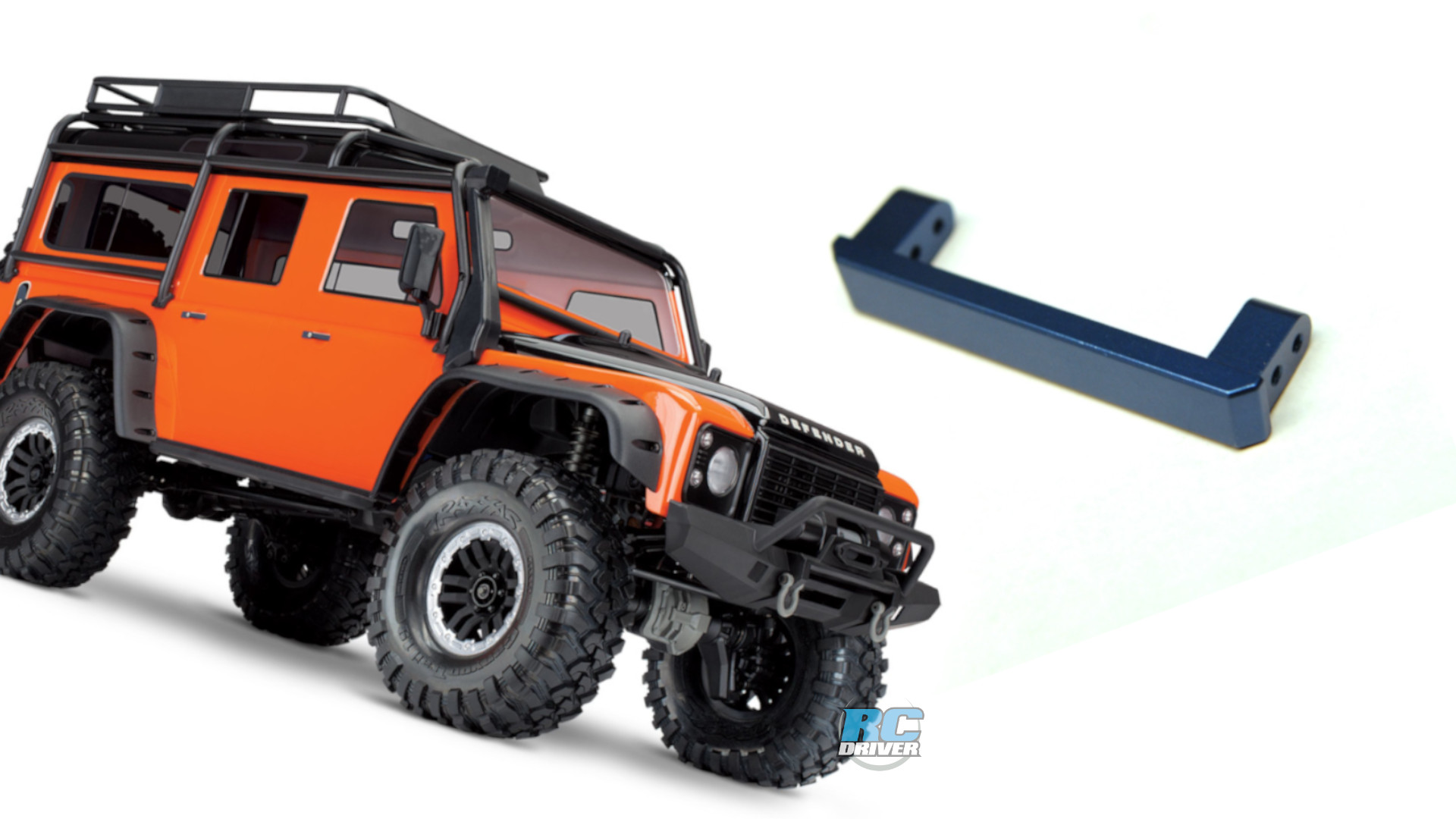 STRC rear bumper mount eliminator braces for Traxxas TRX-4