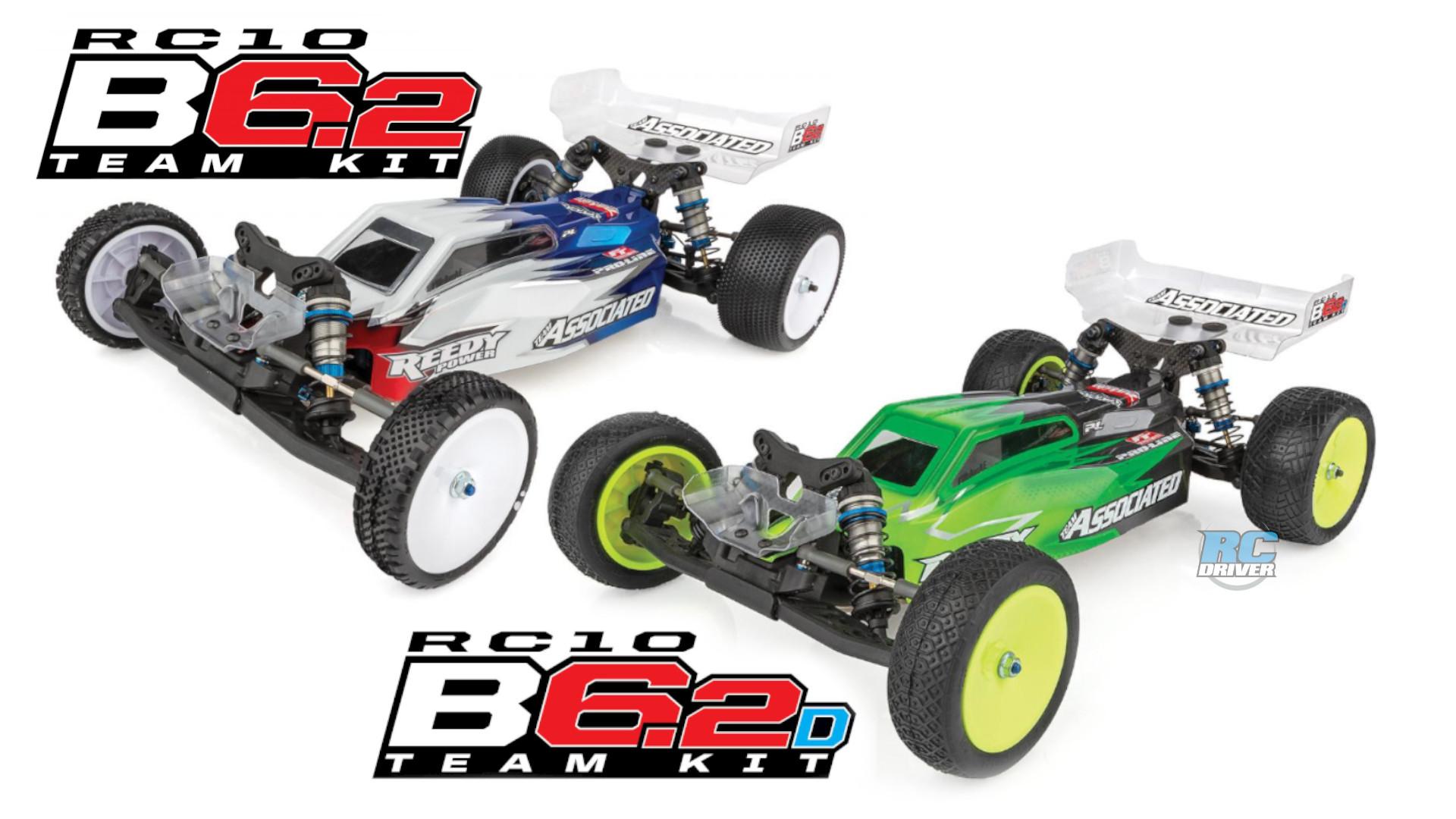 Team Associated announces new RC10B6.2 Team kits