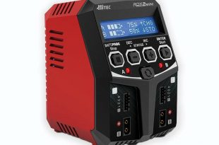 Power Up with the Hitec RDX2 Mini AC Balance Charger