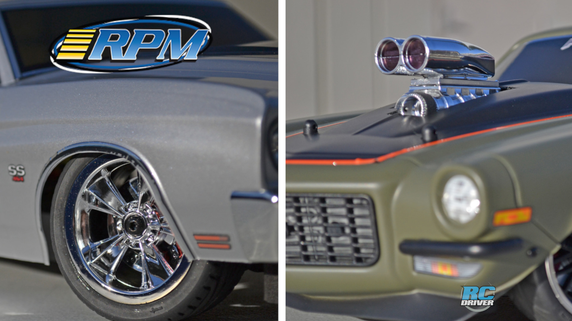 RPM N2O Resto-Mod Wheels and Shotgun Style Intake & Blower