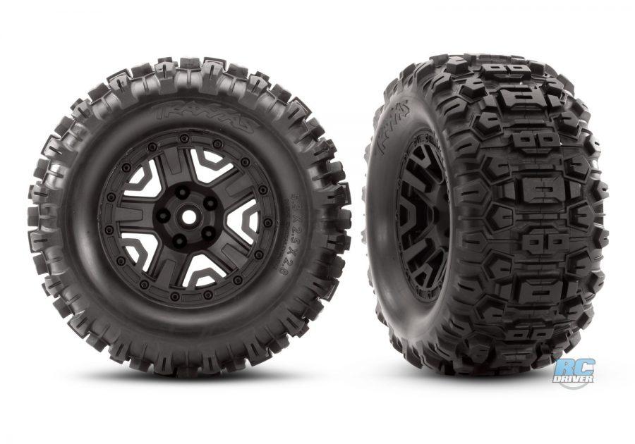 Traxxas Sledgehammer Tires for Rustler 4x4