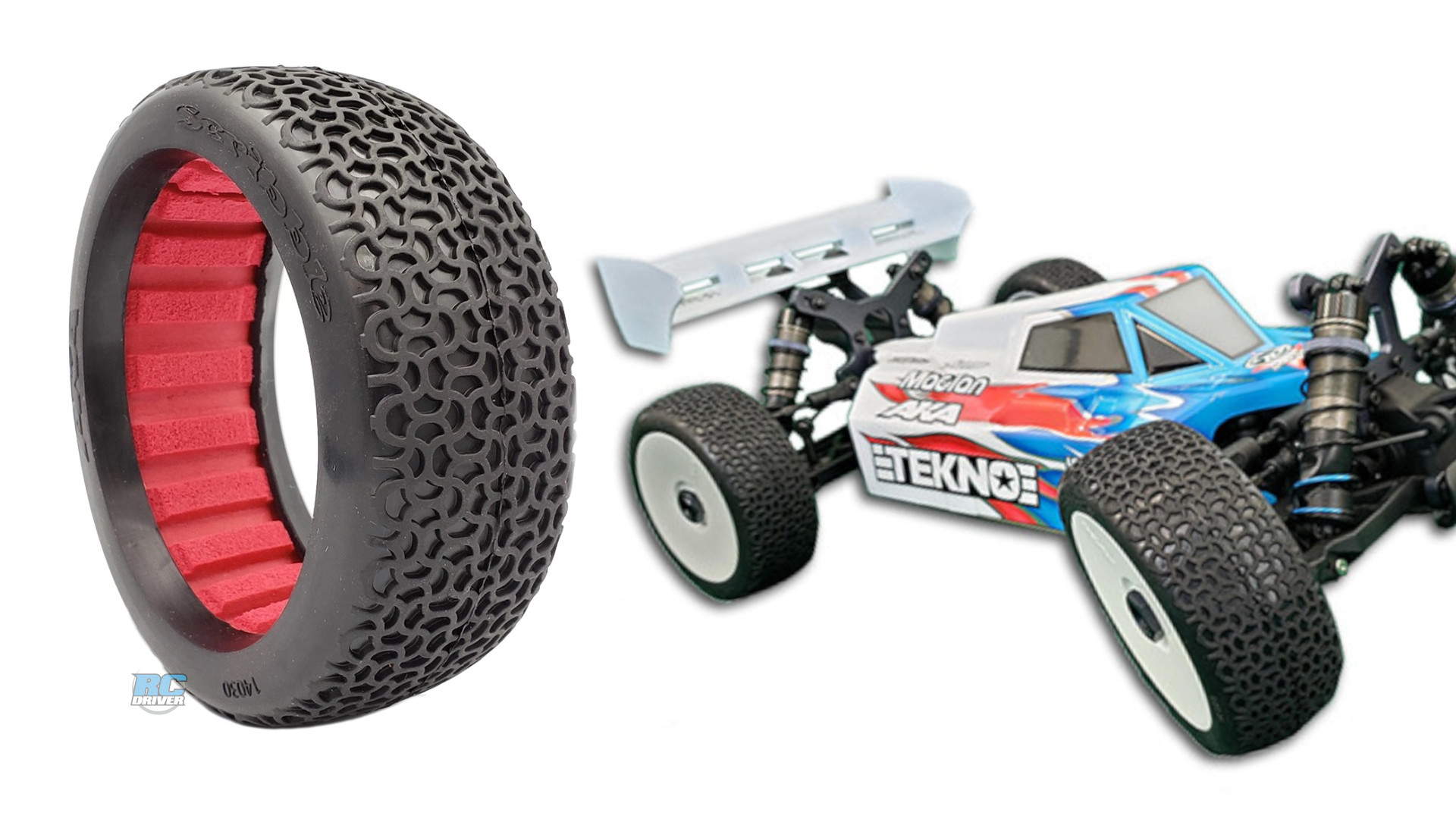 AKA 1:8 Buggy Scribble Tires - New Release