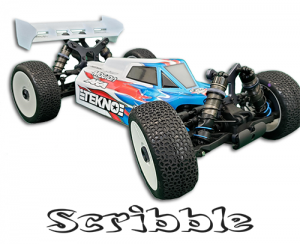 AKA 1:8 Buggy Scribble Tires