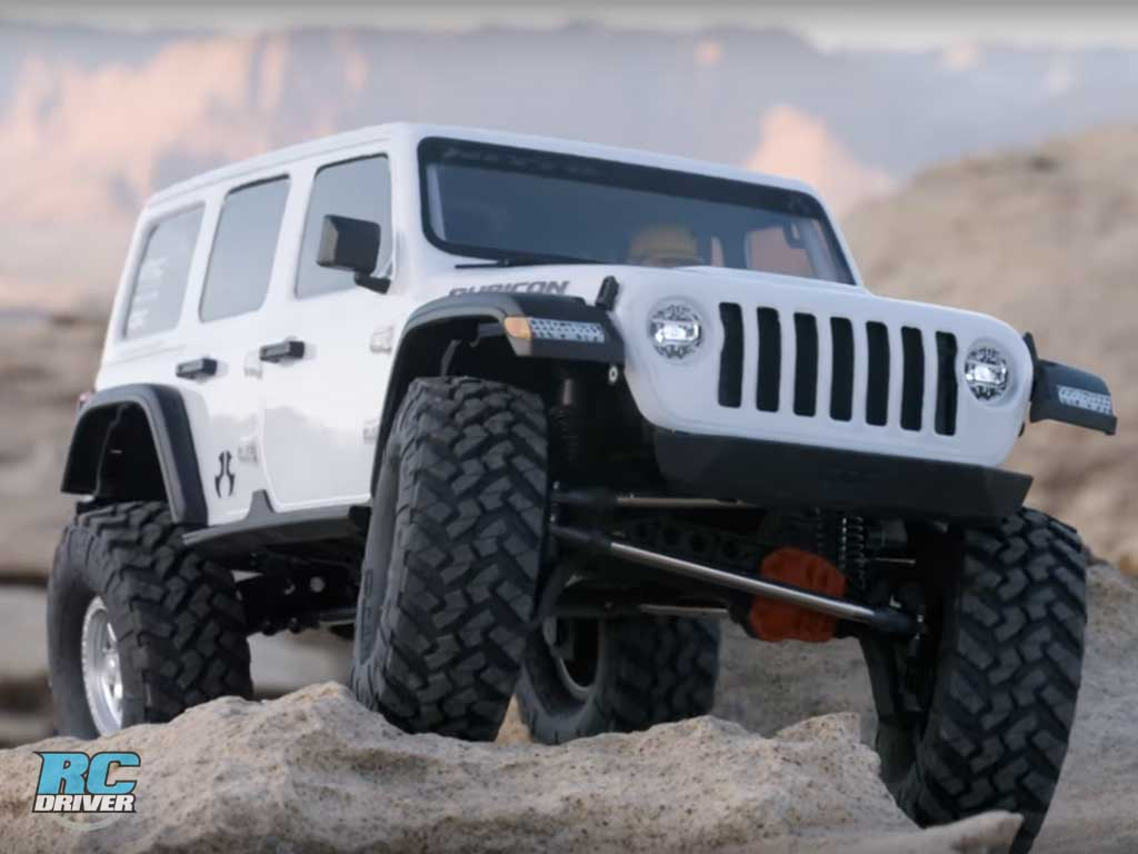Axial SCX10 III Jeep JL Wrangler with Portals 4WD Kit Released!