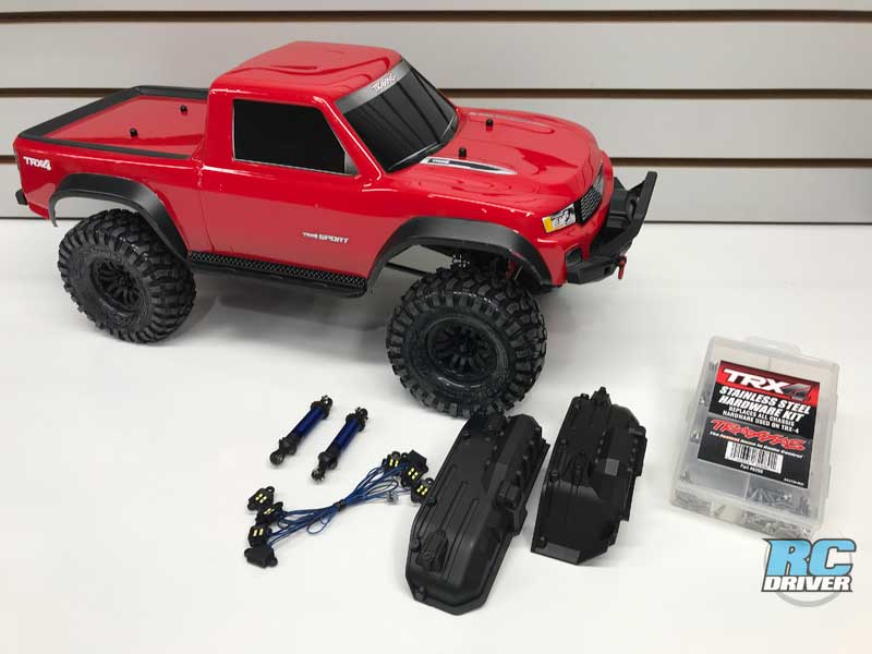 Traxxas TRX-4 Sport Full Upgrade Project Truck Part 1