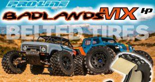 Pro-Line Badlands MX28 & MX38 HP BELTED Tires
