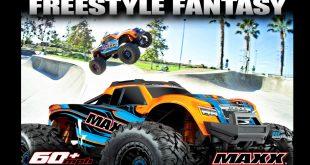 New Traxxas Maxx Freestyle Fantasy Video