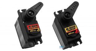 Return of Hitec's 7950T & 7955TG powerhouse servos