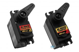 Return of Hitec's 7950T & 7955TG powerhouse servos