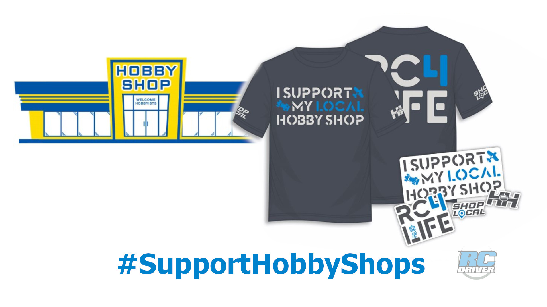Support Your Local Hobby Shops!