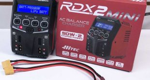 Hitec RDX2 Mini AC Balance Charger Overview
