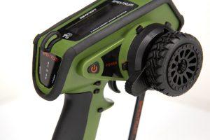 Spektrum DX5 Rugged Green special edition