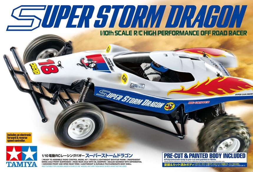 Tamiya Super Storm Dragon 2WD Buggy