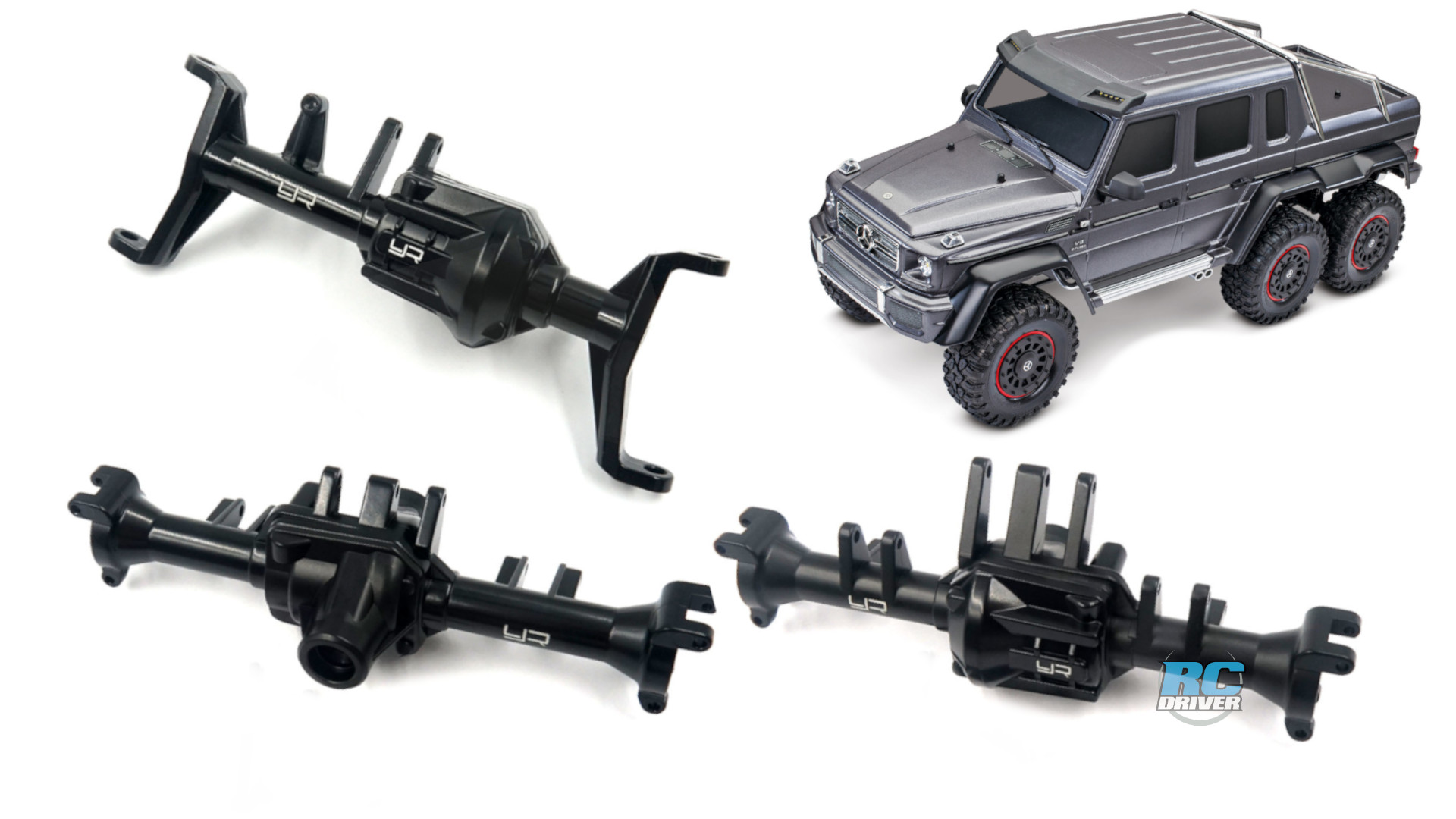 Yeah Racing Alloy Axles For Traxxas TRX-6