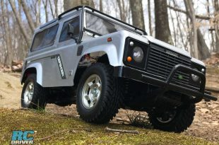 Go Off-Road With The Tamiya Land Rover Defender 90 CC-01Kit