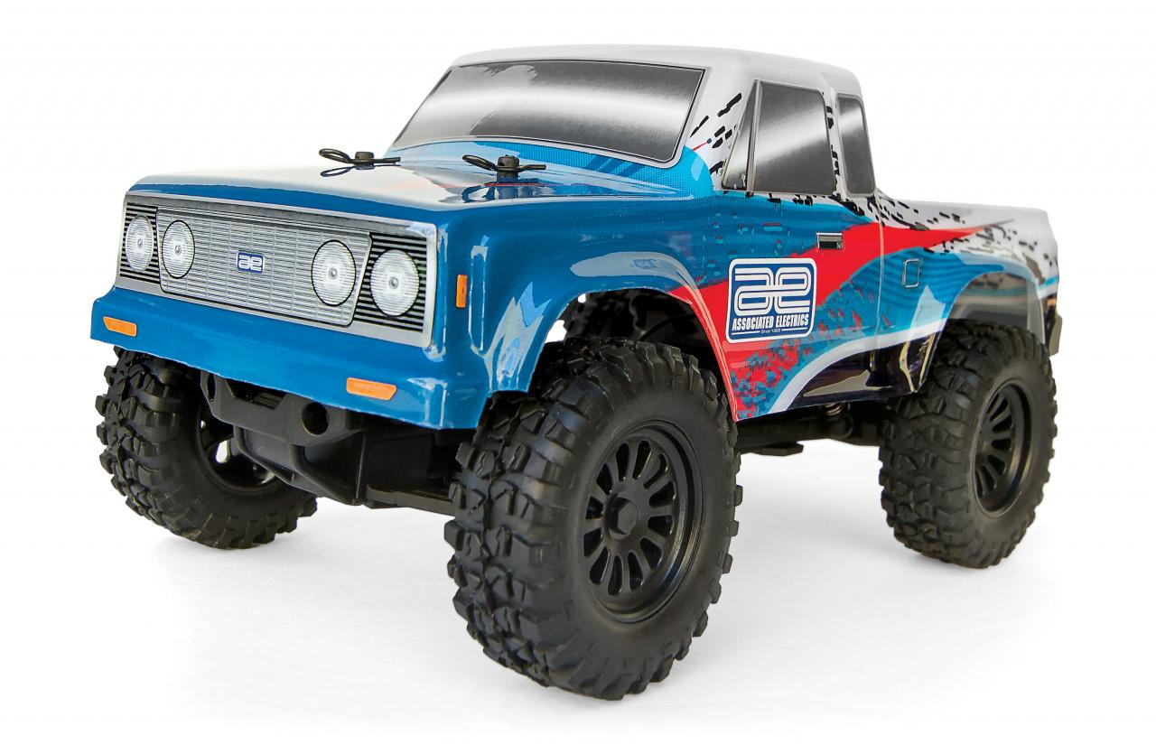 Team Associated CR28 and TR28 pint-sized off-road vehicles