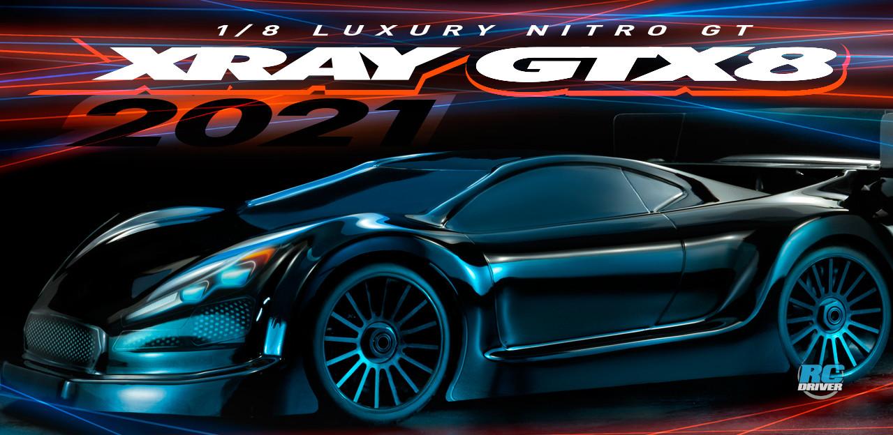 XRAY GTX8 2021 1/8 Nitro GT