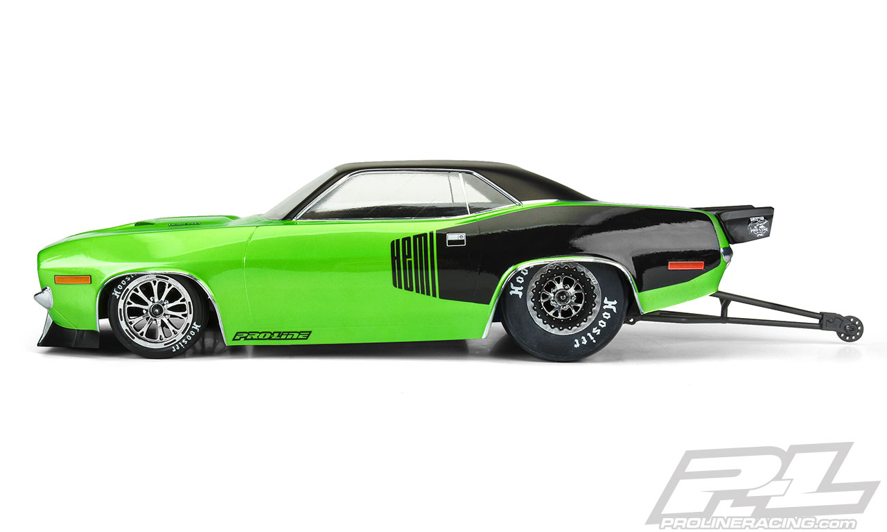 Pro-Line 1972 Plymouth Barracuda and Axis Light Weight Car Bodies