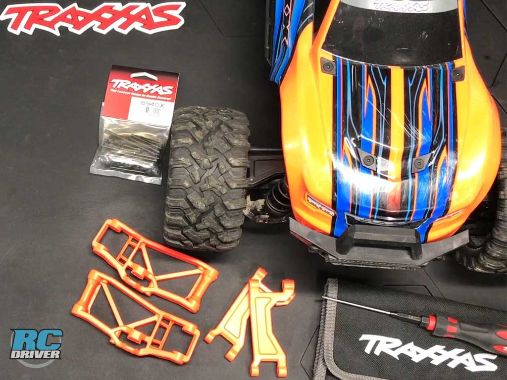Suspension Arm & Pin Swap - Traxxas Maxx