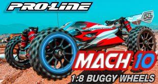 Pro-Line Mach 10 1:8 Buggy Wheels