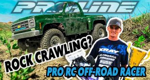 Pro Off-Road RC Racer Ty Tessmann goes Rock Crawling