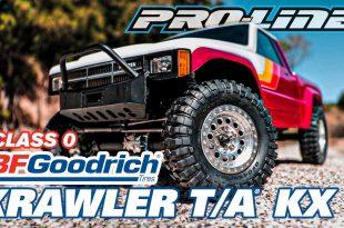 "Pro-Line Class 0 BFGoodrich Krawler T/A KX 1.9"" Truck Tires"