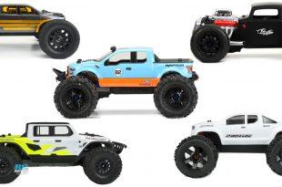Editor's top 5 Pro-Line body picks for 1/8 monster trucks