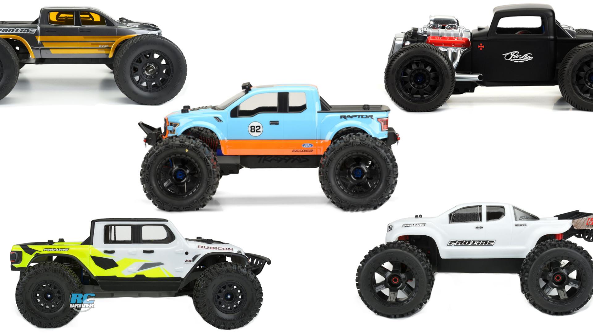 Editor S Top 5 Pro Line Body Picks For 1 8 Monster Trucks Rc Driver