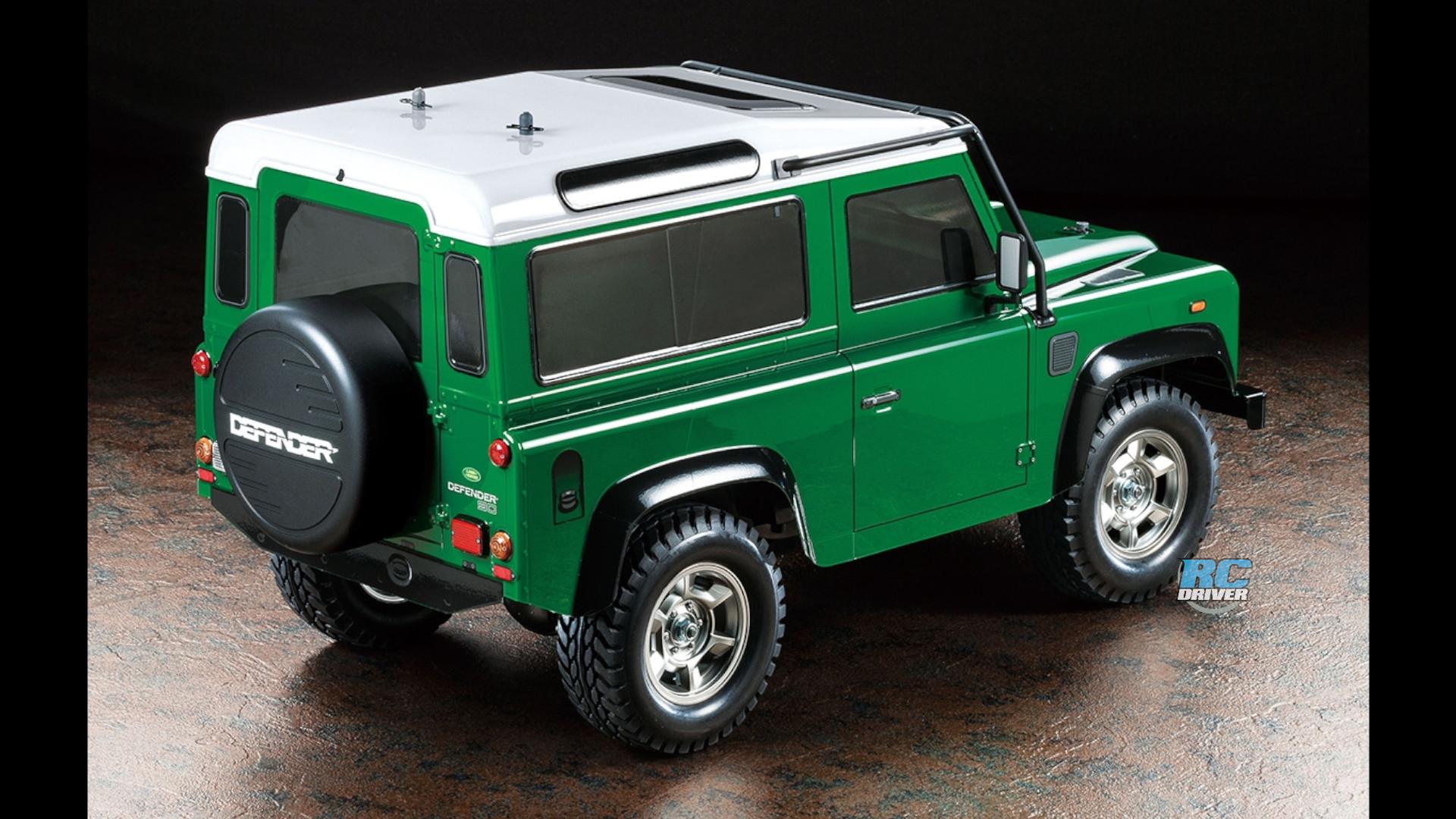 Tamiya Land Rover Defender 90—performance boosting option parts