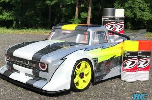 How To Spray An RC Body With Duratrax RC Car Paint