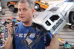 Losi Baja Rey Build Axle Option Part Install