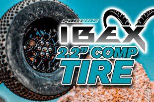 "Pro-Line Ibex Ultra Comp 2.2"" Rock Terrain Truck Tires"