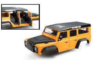 Xtra Speed D110 Hard Plastic Scale Crawler Body