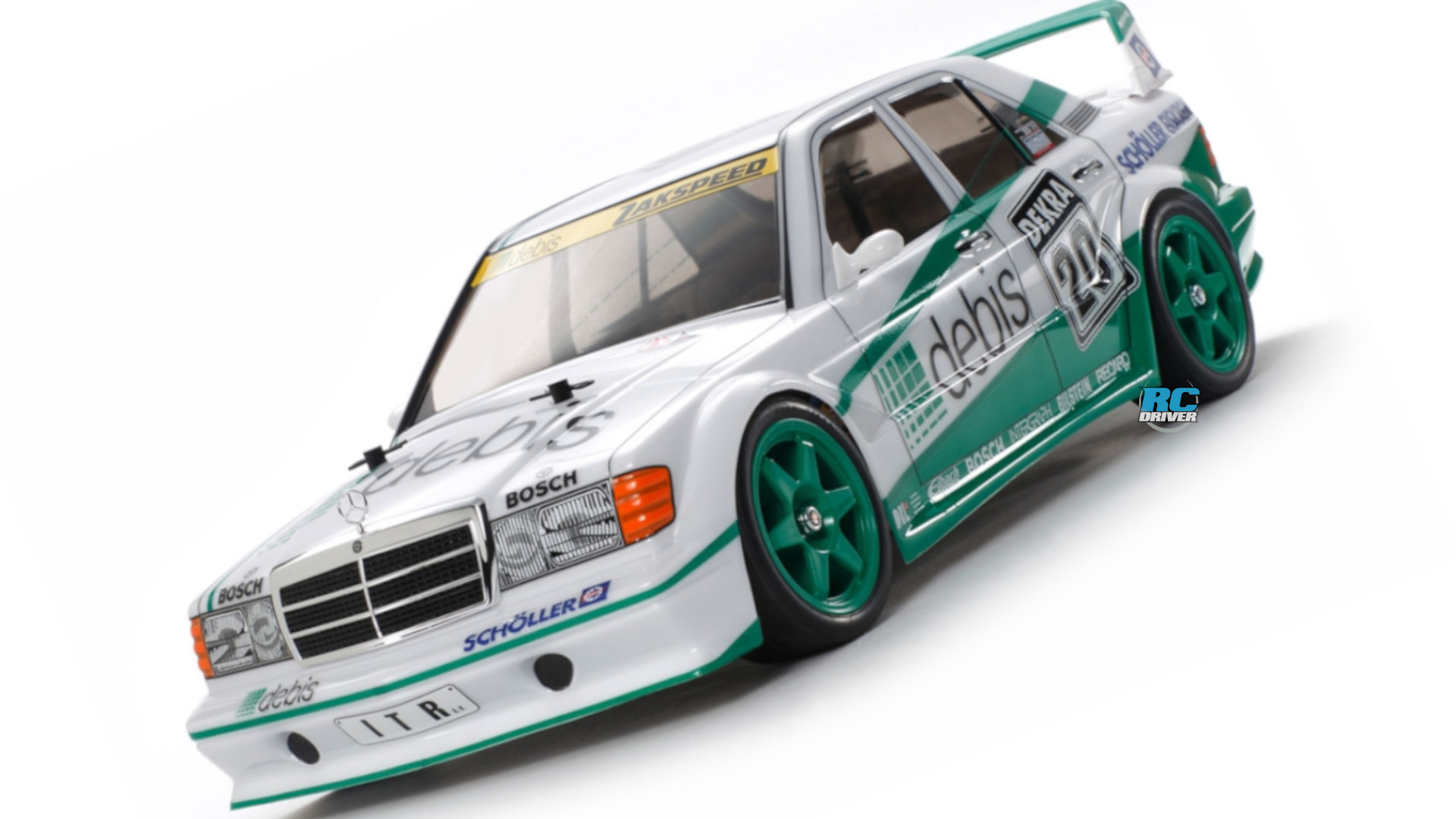 "Key hop-up options for the Tamiya Mercedes-Benz 190E ""Debis"""