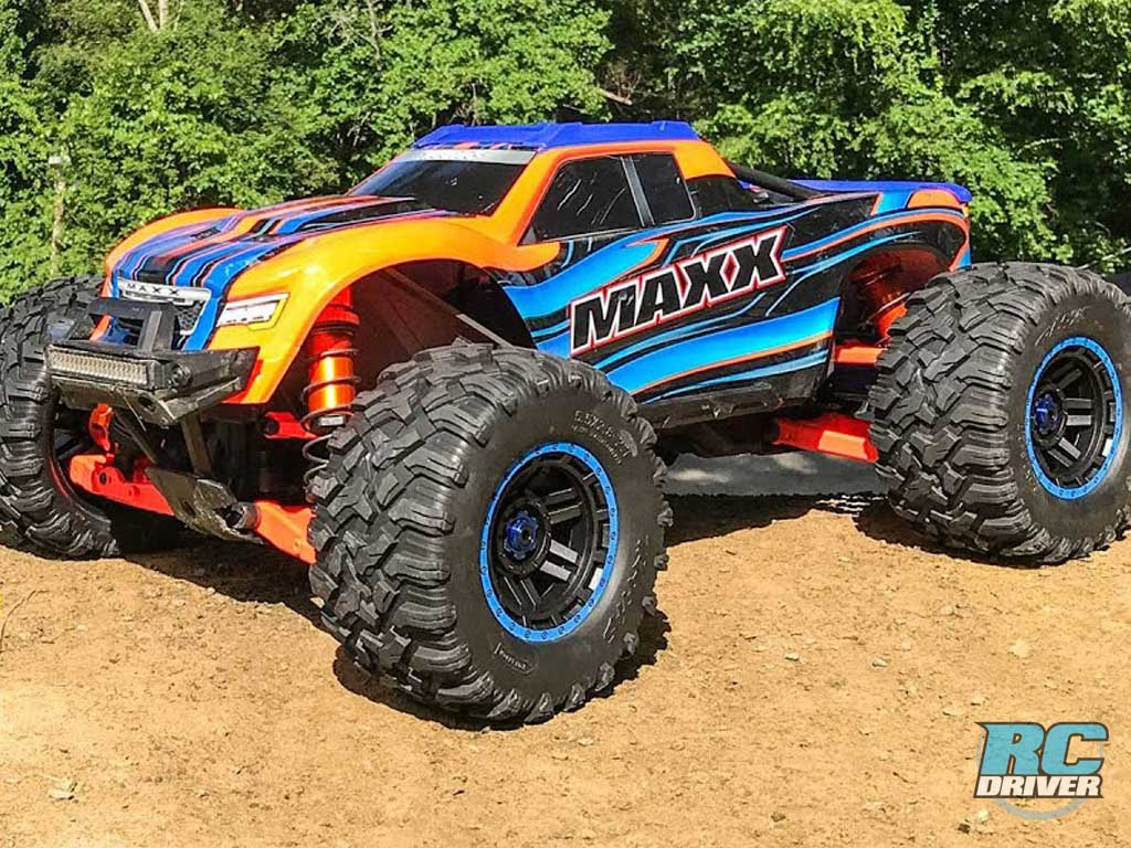Exterior Upgrades - First Bash With Project Traxxas Maxx Build