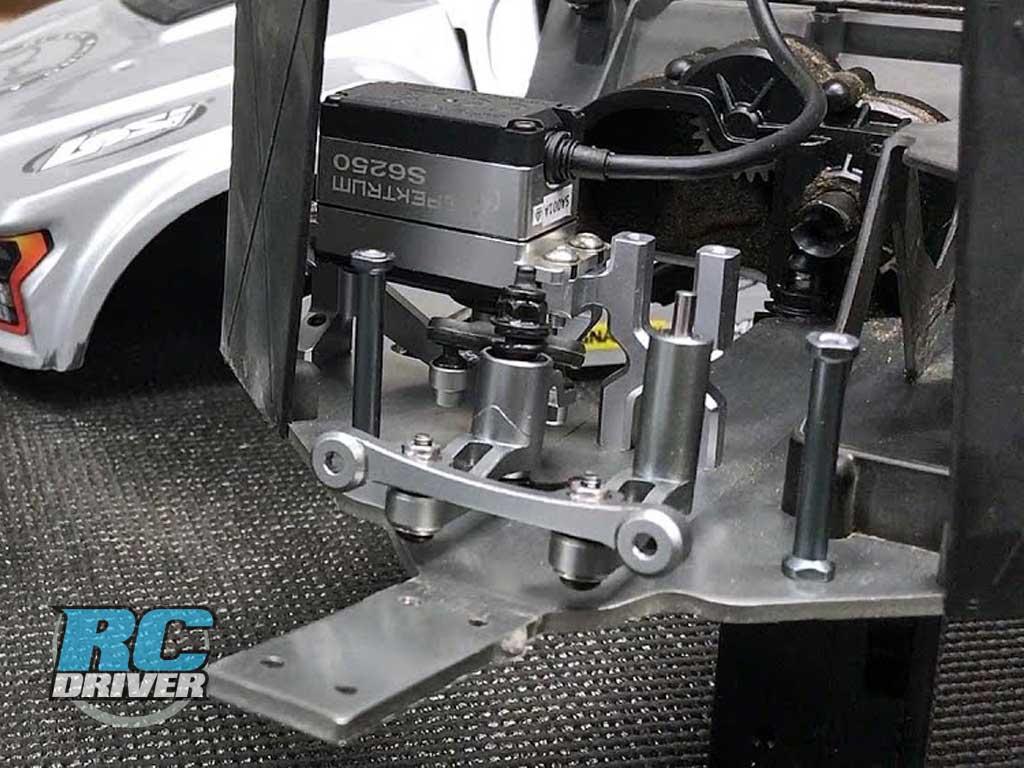 Losi Baja Rey Project Truck Gets Steering Upgrade Parts