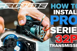 Pro-Line HOW TO: Install PRO-Series 32P Transmission