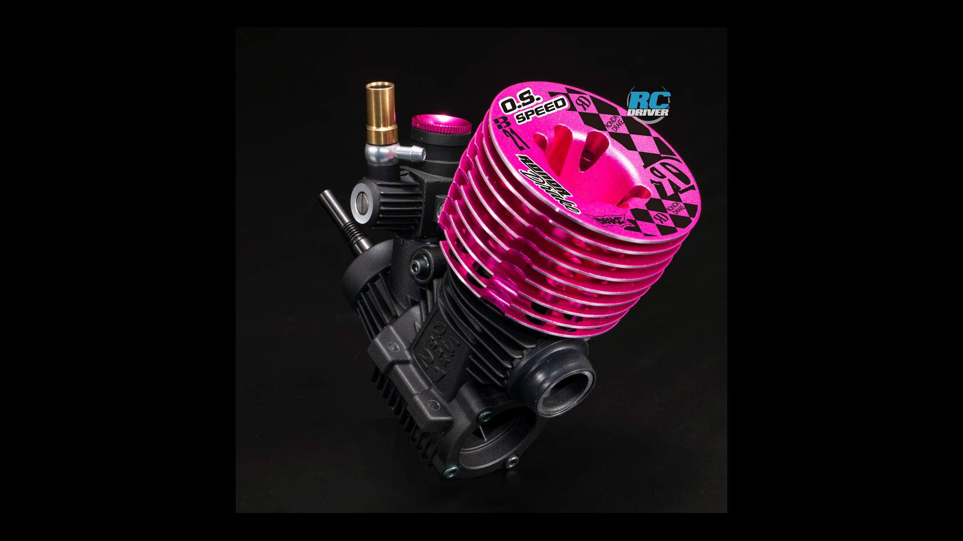 O.S. Speed B21 Ronda Drake Pink Edition Engine