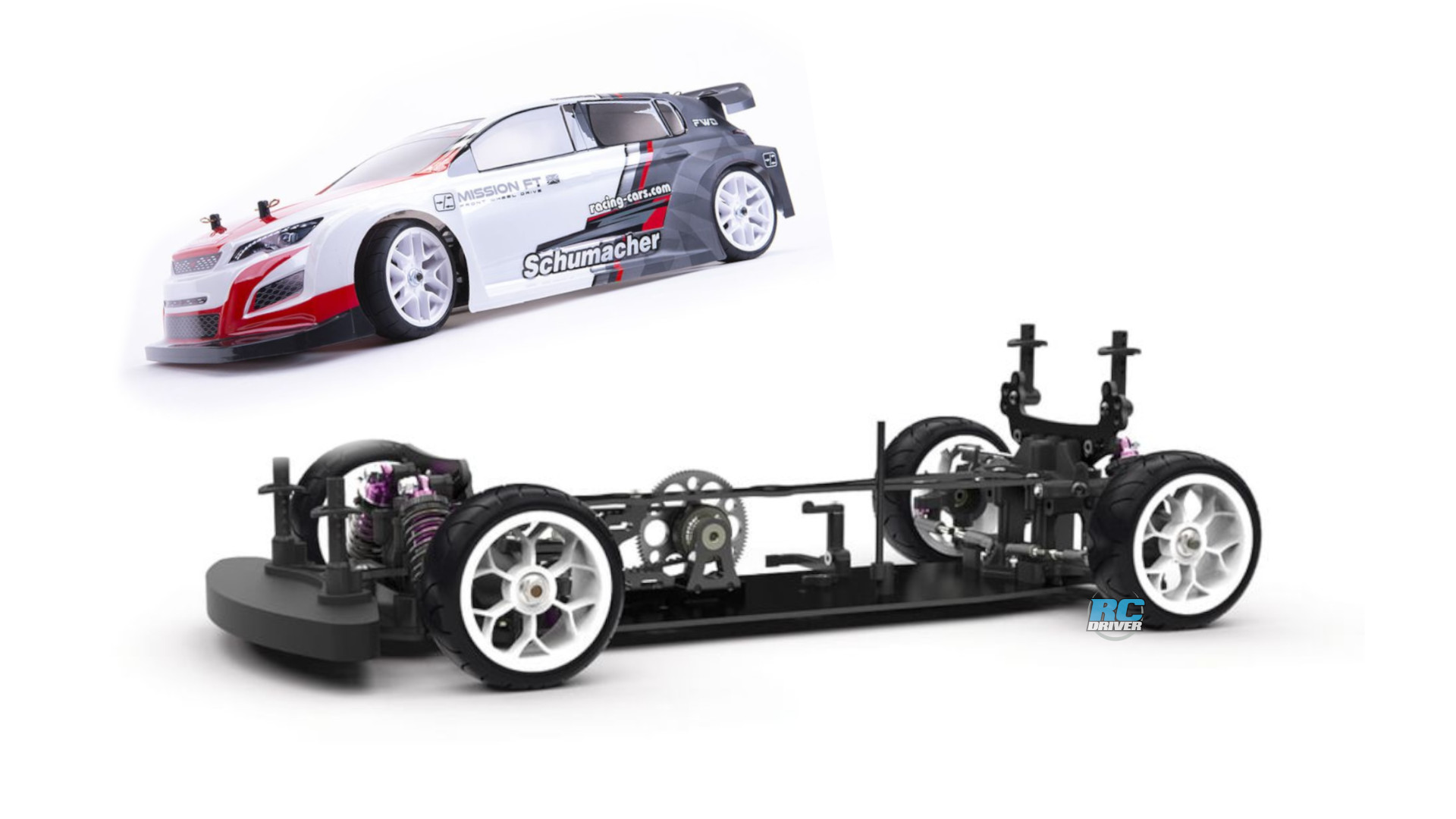 Schumacher Mission FT front wheel drive touring car