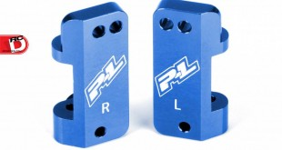 Pro-Line - Blue Aluminum Caster Blocks for the Slash and Pro-2 SC copy