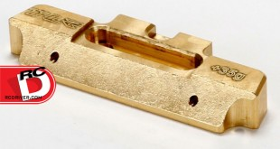 TLR - Brass Mid-Motor 35g Hinge Pin Brace for 22 Series Vehicles copy