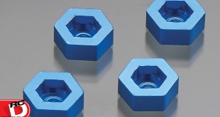 Dromida - Aluminum Wheel Adapter To 12mm Hex Blue copy