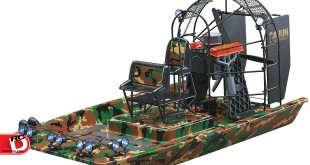 AquaCraft - Cajun Commander Brushless Scale Airboat RTR copy