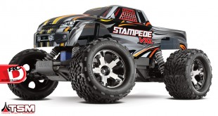 Traxxas - Stampede VXL With Traxxas Stability Management System_4 copy