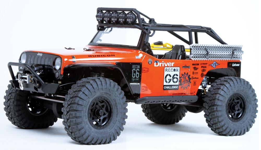 Axial R C : Review axial scx g jeep wrangler
