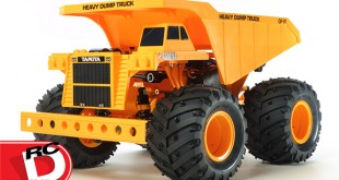 Tamiya - Heavy Dump Truck - GF-01 Chassis copy