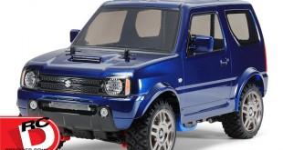 Tamiya - Suzuki Jimny JB23 - MF-01X Met with Blue Painted Body copy